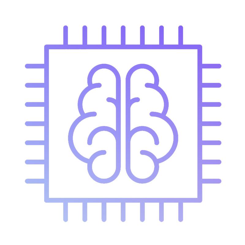 local seo brain image vector